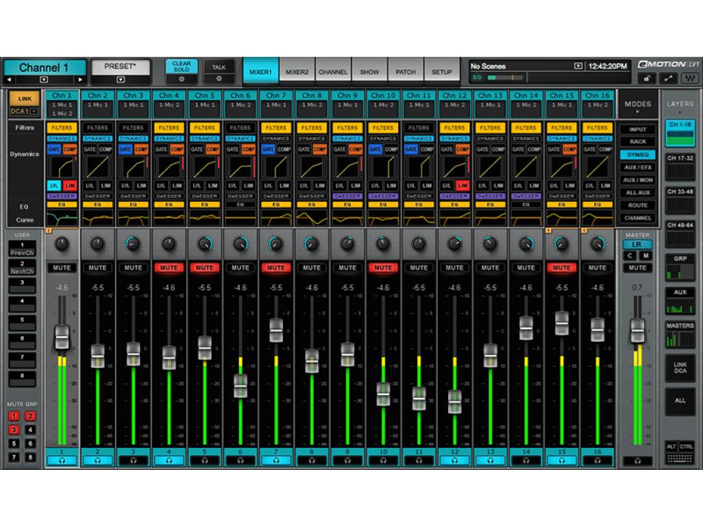 eMotion LV1 16 St full dynamics